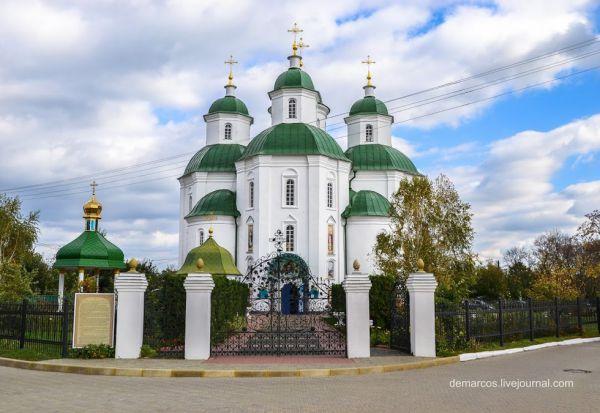 Історико-архітектурна пам'ятка Спасо-Преображенський собор