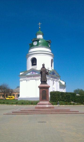 Історико-архітектурна пам'ятка Миколаївська церква-дзвіниця